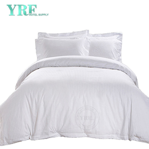 Luxury White Soft Polycotton Hotel Quality Hotel 4KS prádlo pro Apartment