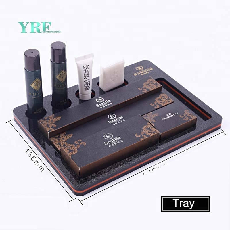 YRF Five Star Hotel Inn Lodge Elegantní Akryl Servise Tray